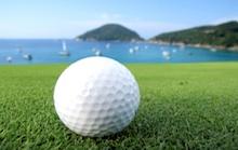 Golf on the sea