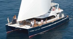 Maxi catamaran