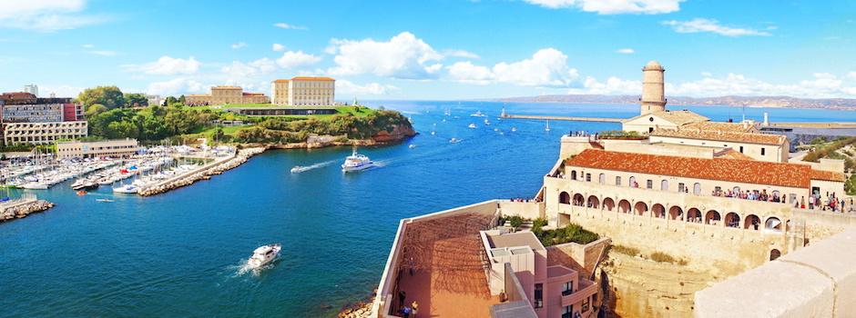 Entree du Vieux Port  Marseille